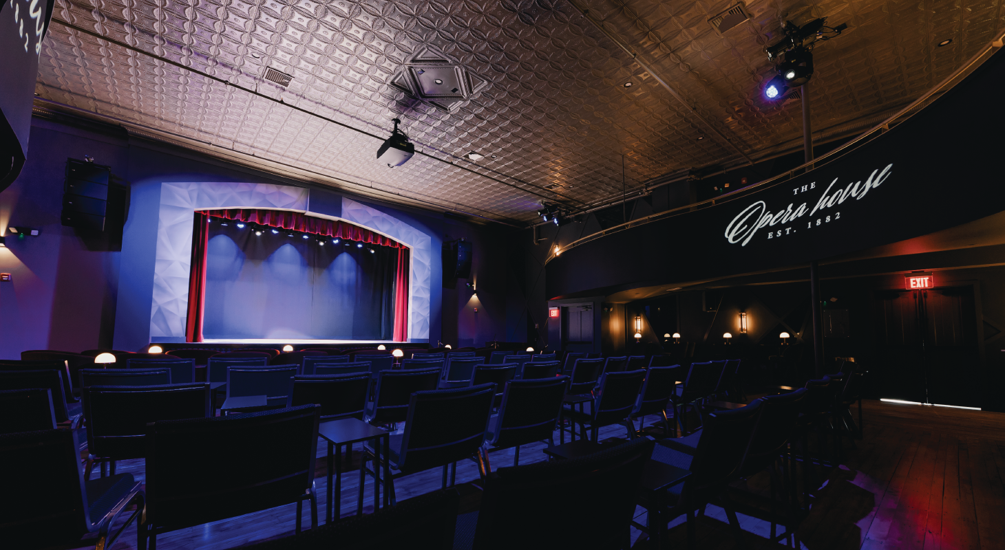 The theatre of the Lakeport Opera House